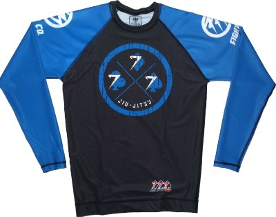 Rash Guard 777 Azul Lucky Day