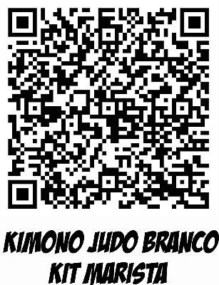 Kimono Judo Infantil Reforçado KMZ Branco c/kit Marista