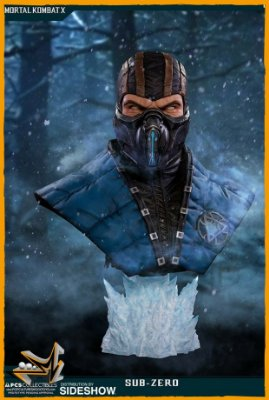 Sub-Zero Busto Life-size 1:1 - Pop Culture Shock