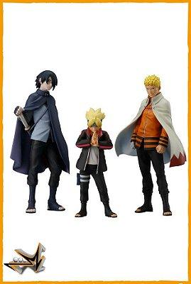 Boruto Pack Naruto Boruto e Sasuke - Bandai
