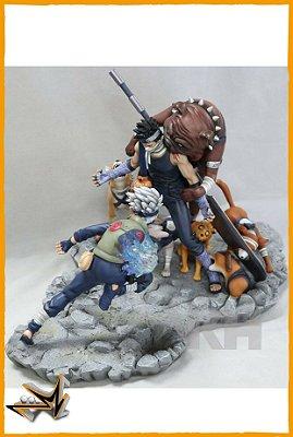 Kakashi Hatake Vs Zabuza Diorama Naruto - VKH