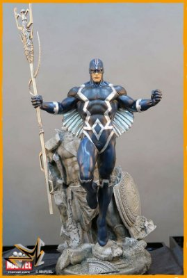Black Bolt Marvel Statue 1/4 - Xm Studios