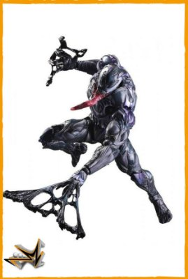 Venom Action Figure Marvel - Play Arts Kai