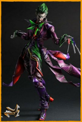 Joker Ation Figure Dc Comics - Play Arts Kai
