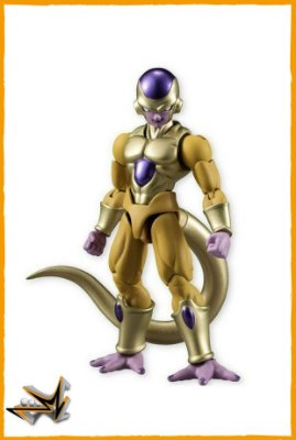Golden Freeza Dragon Ball - Bandai Shodo