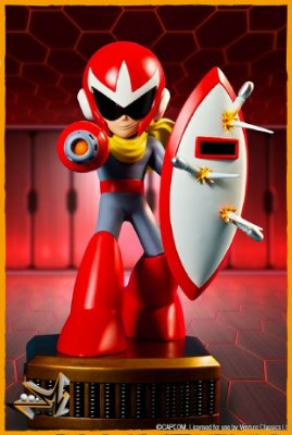 Protoman Megaman Capcom - First 4 Figures
