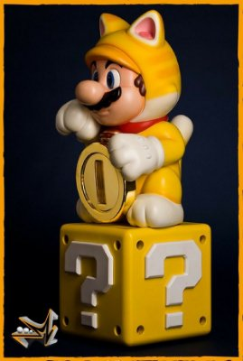 Mario Cat Nintendo - First 4 Figures
