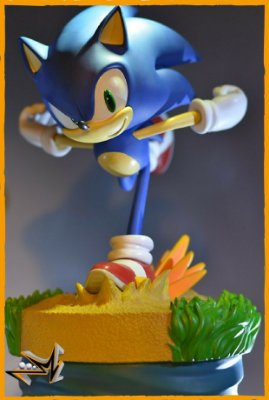 Sonic Clássico - First 4 Figures