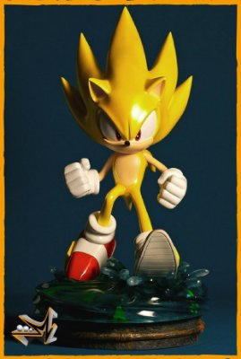 Super Sonic The Hedgehog - First 4 Figures