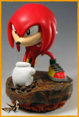 Knuckles Sonic The Hedgehog Sega - First 4 figures