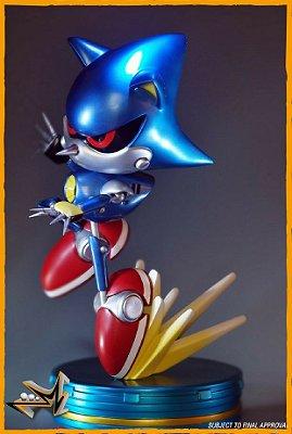Metal Sonic The Hedgehog Sega - First 4 Figures