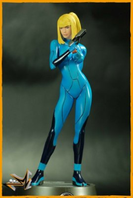 Samus Zero Suit Metroid Prime 2 Echoes - First 4 Figures