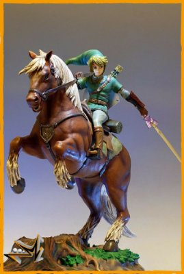 Link e Epona The Legend Of Zelda Nintendo - First 4 Figures