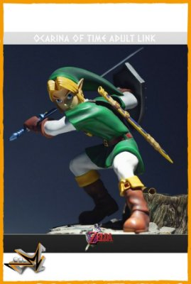 Link Clássico Zelda Ocarina Of Time - First 4 Figures