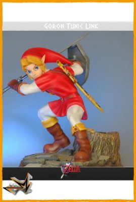 Link Túnica de Goron Zelda Ocarina Of Time - First 4 Figures