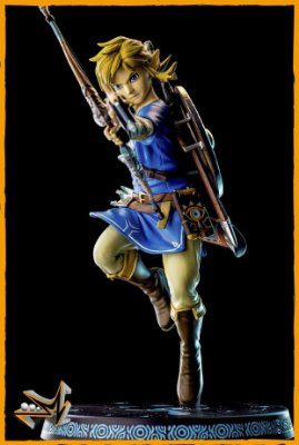 Link Zelda Breath of the Wild - First 4 Figures