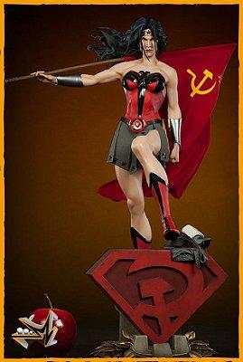 Mulher Maravilha Red Son Premium Format Dc Comics - Sideshow