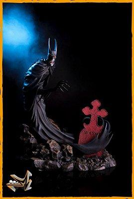 Batman Red Rain Dc Comics By Mondo - Sideshow