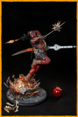 Deadpool Heat seeker Premium Format Marvel - Sideshow