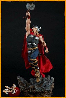 Thor Comics 1/5 Avengers Assemble Marvel - Sideshow (reserva de 10% do valor)