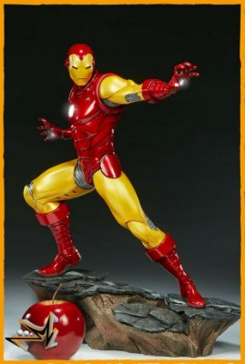 Iron Man Comics 1/5 Avengers Assemble Marvel - Sideshow