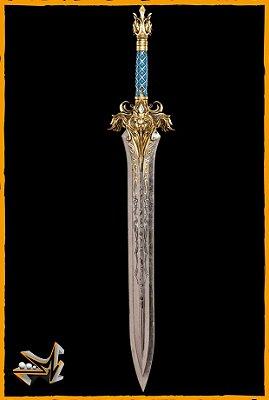 Espada Rei Llane Wrynn 1/1 Réplica Warcraft - Weta