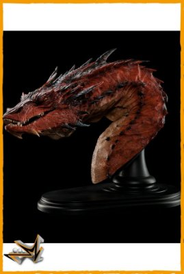 Busto Smaug O Terrível O Hobbit - Weta