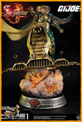 Serpentor G.I. Joe - Prime 1 (reserva de 10% do valor)
