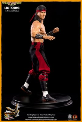 Liu Kang 1/4 Mortal Kombat - Pop Culture Shock