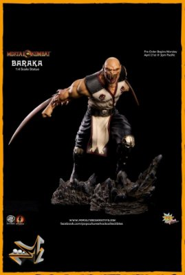 Baraka 1/4 Mortal Kombat - Pop Culture Shock