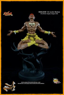 Dhalsim 1/4 Street Fighter - Pop Culture Shock
