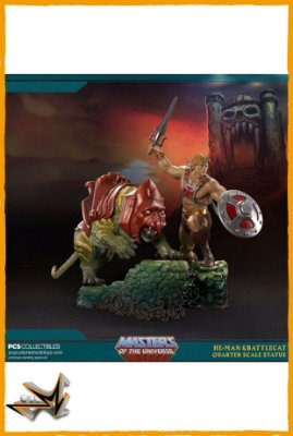 He-Man e Gato Guerreiro EX - Pop Culture Shock