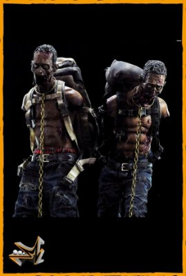 Pet Zumbis Michonne 1/6 The Walking Dead - Threezero