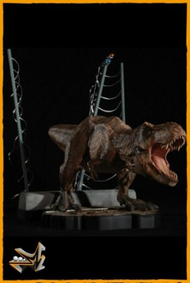 T-Rex Breakout 1/20 Jurassic park - Chronicle Collectibles