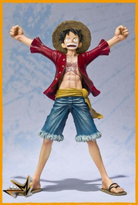 Monkey D Luffy New World One piece Figuarts Zero - Bandai