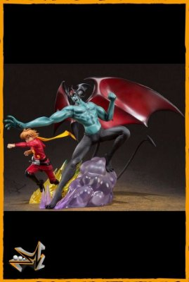 Cyborg 009 Vs Devilman Figuarts Zero - Bandai