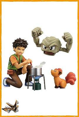 Brock Geodude e Vulpix Pokémon - Megahouse