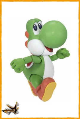 Yoshi Super Mario Nintendo S.H Figuarts - Bandai