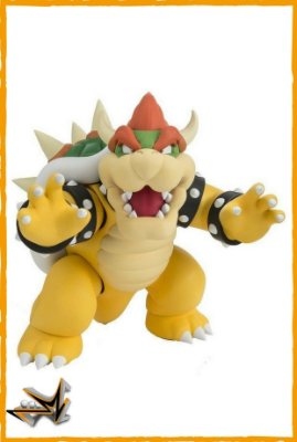 Bowser Super Mario Nintendo S.H Figuarts - Bandai
