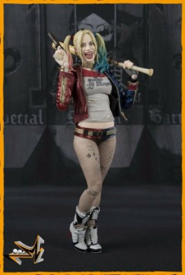 Harley Quinn Esquadrão Suicida Dc Comics S.H Figuarts - Bandai