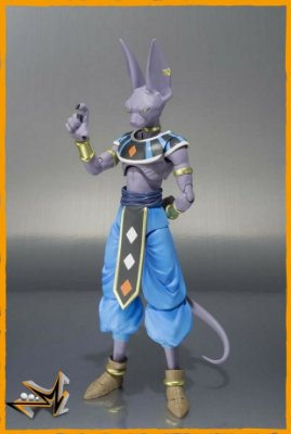 Beerus Dragon Ball Super S.H Figuarts - Bandai