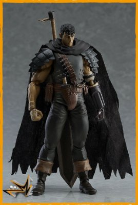 Guts Black Swordsman Repaint Berserk 359 - Figma (reserva de 10% do valor)