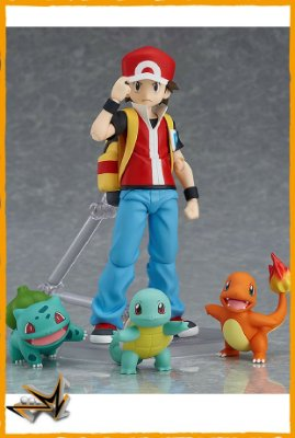 Pokémon Treinador Monster Red - 356 Figma (reserva de 10% do valor)