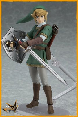 Link Zelda Twilight Princess Versão DX - 320 Figma
