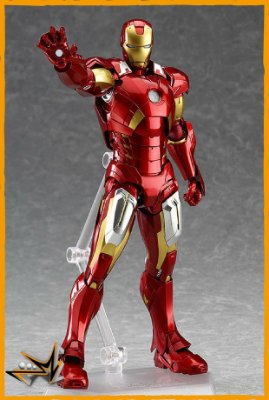 Iron Man Mark VII Marvel - 217 Figma