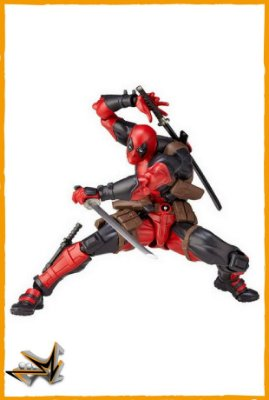 Deadpool Kaiyodo Marvel - Revoltech