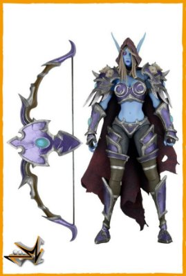 Sylvanas Heroes Of The Storm Warcraft - Neca