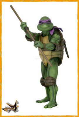 Donatello 1/4 As Tartarugas Mutantes Ninjas - Neca