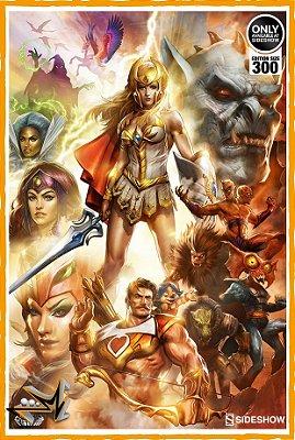 She-Ra Master Of The Universe Art Print - SIdeshow (reserva de 10% do valor)