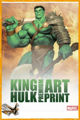 Hulk King Art Print Marvel - Sideshow